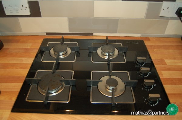 Fitted Hob Example